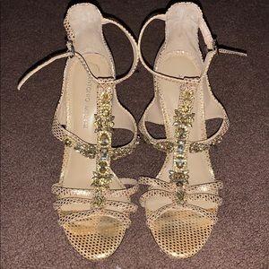 Gold Antonio Mélani Heels